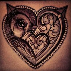 Owl tattoo designs may be cute and eye-catching but there's more to it than that. With so many representations of owls, you can even match your ink with your personality. Find out which owl tattoo would suit your personality best. Tatuajes Tattoos, Bild Tattoos, Body Art Tattoos, Tribal Tattoos, Tatoos, Arabic Tattoos, Key Tattoos, Anchor Tattoos, Feather Tattoos