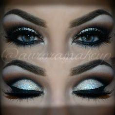 auroramakeup #cosmetics #makeup #eye