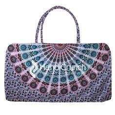 Floral print multi color mandala travel bag Online Bags, Travel Bag, Handicraft, Mandala, Floral Prints, Shoulder Bag, Handbags, Stuff To Buy, Color