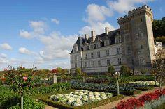 Villandry, Castle on the Loire, France