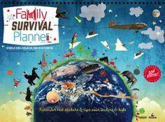 De Family Survival Planner is een MAANDPLANNER voor het hele gezin.