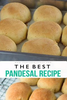 Filipino Bread Recipe, Milk Bread Recipe, Best Bread Recipe, Biscuit Recipe, Easy Filipino Recipes, Soft Pandesal Recipe, Pandesal Recipe Without Yeast, Pinoy Pandesal Recipe, Healthy Bread Recipes