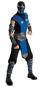 Our Mortal Kombat Sub-Zero Costume is based on the ice-throwing ninja fighter from the popular video game series. A fantastic fancy dress idea and a great alternative to traditional ninja outfits.