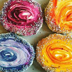 Nutmeg & Honeybee: Agate Sugar Cookies