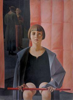 Felice Casorati. Ritratto di Renato Gualino, 1923-1924. Istituto Matteucci, Viareggio