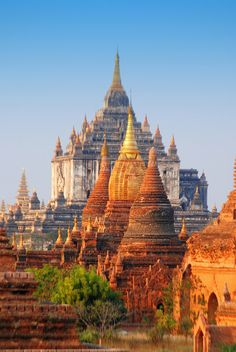 Combine the ancient temples of Bagan in Myanmar with the magnificent ruins of Angkor in Cambodia. Myanmar Travel, Cambodia Travel, Asia Travel, Burma Myanmar, Cambodia Beaches, Bagan, Places To Travel, Places To See, Travel Destinations