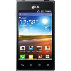 LG Optimus L5 E615 Black Dual Sim Android 4.0 ICS WiFI Unlocked Smart Phone