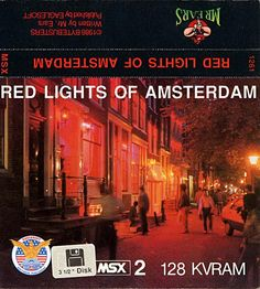Red Lights Of Amsterdam for MSX2.