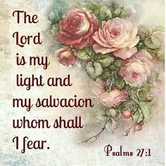 Psalms KJV (A Psalm of David.) The LORD is my light and my salvation; the LORD is the strength of my life; of whom shall I be afraid? Bible Verses Quotes, Bible Scriptures, Religious Text, My Salvation, Fear Of The Lord, King James Bible, Favorite Bible Verses, Faith In God, Christian Inspiration