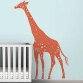 Found it at AllModern - Black Label Cornet Giraffe Wall Decal