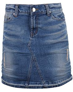 Special Offer: $43.99 amazon.com ililily Vintage Distressed Washed Cotton Denim Classic Fit H-line Mini Skirt Style: vintage distressed detail mini skirt Fit: washed cotton denim classic fit skirt Pockets: five-pockets Hem: frayed hem and h-line skirts Must have item for your daily look...
