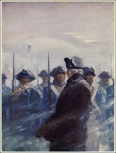 Wyeth Poems of American Patriotism Published by Charles Scribner's Sons ~ 1922 American Revolutionary War, American War, Early American, American History, Military Art, Military History, Illustrations, Illustration Art, Nc Wyeth