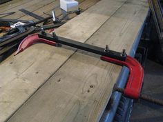 """C-Clamp Modification by Manitoba Man -- Convert one cheap clamp from 8"""" to 15""""...."""