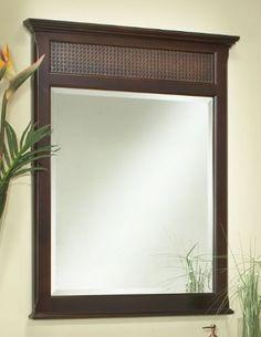 The St. Bart's bath vanity mirror from Sagehill Designs.  Find us at www.sagehilldesigns.com.