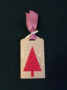 Festive Tree Tag by derck - Cards and Paper Crafts at Splitcoaststampers