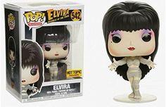 Amazon.com: Funko Pop! Elvira As Macabre Mummy, Halloween Exclusive Vinyl Figure, Concierge Collectors Bundle: Toys & Games