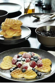 VAFFLOR waffles - the perfect way to start mother's day!