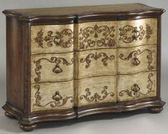 Gorgeous Pulaski accent chest. #chests #Pulaski