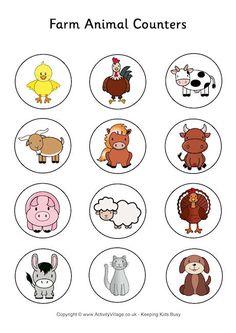 Farm Animal Counters