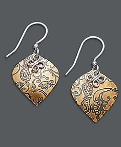 87f176036 Jody Coyote Bronze Earrings, Teardrop Earrings & Reviews - Earrings -  Jewelry & Watches - Macy's