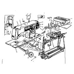 Kenmore 158.1814-1914 Sewing Machine Instruction Manual