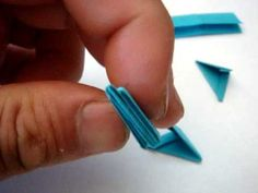 3D origami instructions.  This is my free style 3d origami instruction.