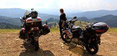 #romania #motovoyager #motorcyclegirl #motorcycletrip #travel #motorcycle #africatwin
