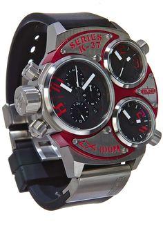 Welder K37 6500 Triple Movement Steel Red 53mm***