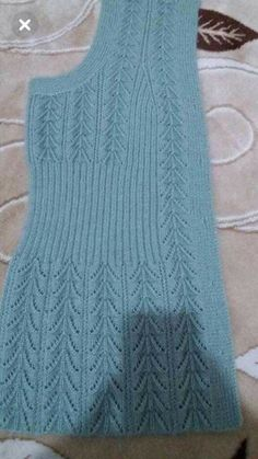 Diy Crafts - knitting,crochet-Blanket with Zig Zag Pattern Free Knitting Stiches, Easy Knitting, Baby Knitting Patterns, Knitting Designs, Knitting Needles, Diy Crafts Knitting, Crochet Cardigan Pattern, Sweater Design, Pulls