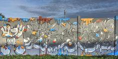 Street art au skatepark de Lisses - Pièce en couleur 20161123004