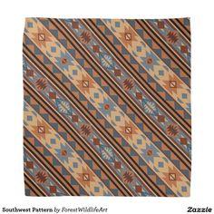 Southwest Pattern Bandana