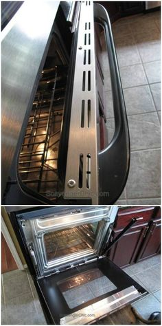 How to clean glass oven doors glass panels glass doors and oven her simple trick for cleaning in between the glass will make your glass oven door sparkle again planetlyrics Gallery