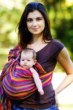 Maya Wrap Lightly Padded Sling - perfect for baby wearing and breastfeeding! $74.95