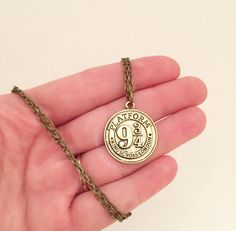 Train Token Necklace