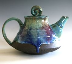 #ceramics #teapot You can follow me on Instagram @ocpottery