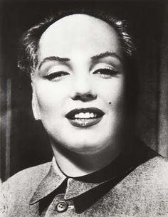 Phillip Halsman'Marilyn Mao'