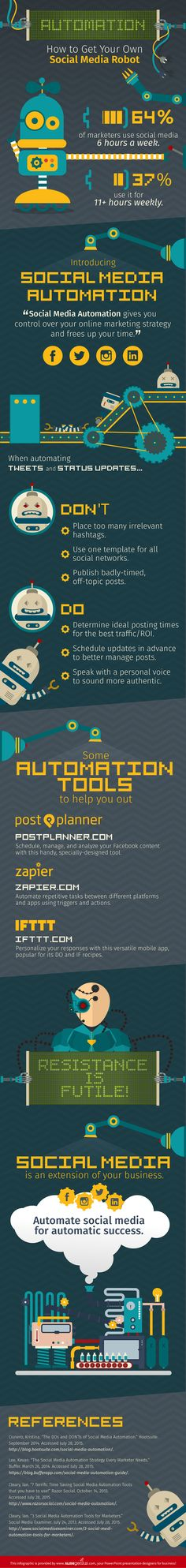 Keep yourself one step ahead by learning the do's and don'ts of automation tools with this handy infographic