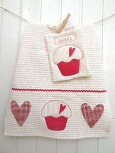 set cucina cupcake - my pattern by countrykitty, via Flickr