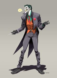 The Joker by Dan Mora, via Behance http://www.behance.net/gallery/The-Joker/13409381