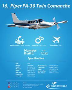 Piper PA-30 Twin Comanche #aviation #avgeek