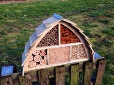 Insect House Bee Hotel Bug Box by Wudwerx on Etsy