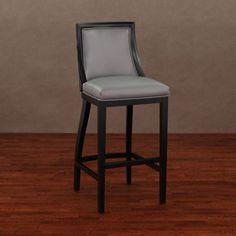 Kosas Home Aoki Upholstered French Beige 30 Inch Barstool