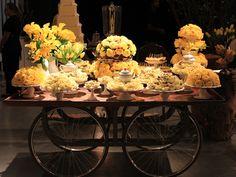 Palavras, Leva-as o Vento: Decoração amarela: casamentos e festas afins