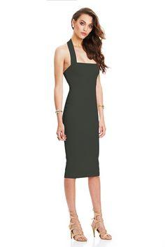 Olive Boulevard Halter Dress : Buy Designer Dresses Online at Nookie
