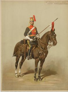 Prince of Wales' Royal Lancers: Legras, Auguste, British Army Uniform, British Uniforms, Military Art, Military History, Military Uniforms, Osprey Publishing, British Armed Forces, Duke Of Cambridge, S Pic