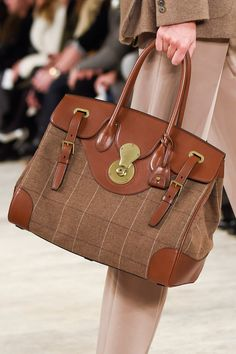 Pin for Later: Take a Peek at All the Fall '16 Bags That Went Down the NYFW Runways  Ralph Lauren Fall '16