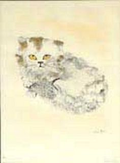 White cat | by Leonor Fini
