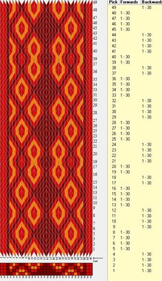 30 tarjetas, 3 colores, secuencia 4B-4F-4 B-4F-2B-2F // sed_362a diseñado en GTT༺❁