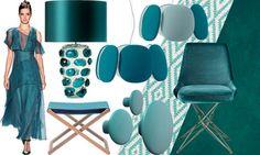 Тенденции дизайна: Цвет морской волны