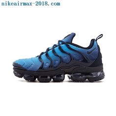 627c63dc48f 2018 Nike Air Vapormax Plus Mens Sneakers Photo Blue Black Air Max Plus